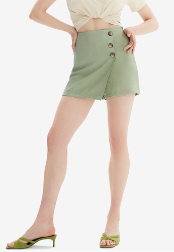 Trendyol green Green Skorts 4ED9BAAF4F607FGS_1