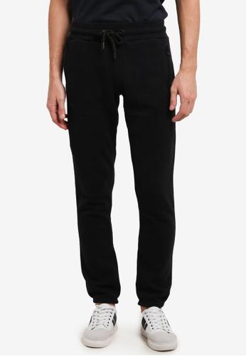 Superdry black Urban Flash Jogger Pants SU137AA0SI2VMY_1