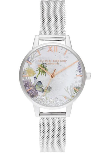 Olivia Burton silver Olivia Burton The Wishing Watch STAINLESS STEEL Women's Watch (OB16SG03) D002EACD4A2A90GS_1