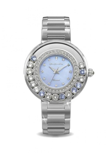 Her Jewellery blue Her Jewellery Glamour Watch (Blue) with Premium Grade Crystals from Austria 9A4A6AC38E7C64GS_1