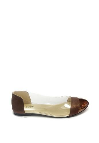 Beauty Shoes brown Beauty Shoes 1142 Flat Brown 6C83FSHD0FD4CCGS_1