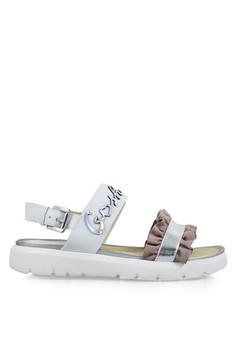 a29eb281d75a GOSH white Novara-424 Volante Slingback Sandals 1F876SHEEC9BC8GS 1