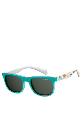 Polaroid Kids green PLD 8035/S Sunglasses 8DB87KC4E80696GS_1