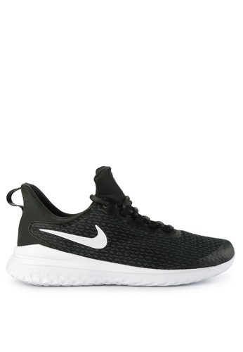 Nike black and multi Nike Renew Rival Shoes 73365SHEFE6AA3GS_1