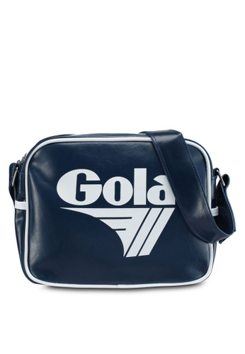 Gola white and navy Micro Redford Bag C1AECAC8D14CDEGS_1