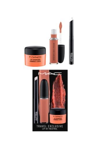 MAC MAC Travel Exclusive Lip Kit Neutral A1A13BE27B1D94GS_1
