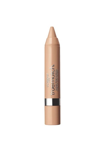 L'Oréal Paris beige L'Oreal Paris True Match Super Blendable Crayon Concealer Light /Medium Neutral N4-5 77323BE45A9F89GS_1