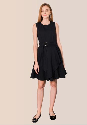 L'zzie black LZZIE ROSSUM DRESS - BLACK 1043EAAF04790FGS_1