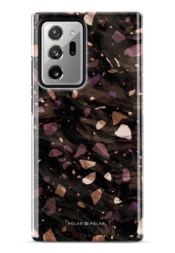 Polar Polar brown Eminence Terrazzo Gem Dual-Layer Tough Case Glossy For Samsung Galaxy Note20 Ultra 5G 9E22AAC4EC0515GS_1