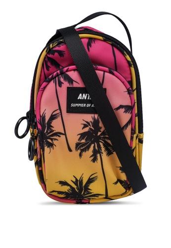 Anta pink Amoy Summer Satchel Sling Bag 2D509AC0081D74GS_1
