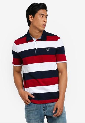 629a42c689e Buy LC Waikiki Short Sleeve Striped Polo Shirt Online on ZALORA Singapore