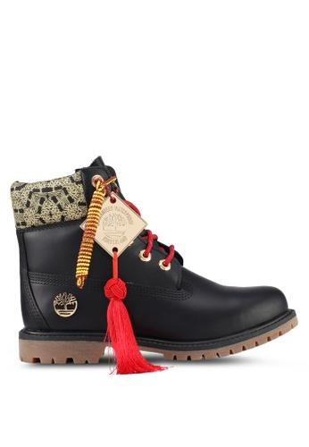 Timberland black 6 Inch Premium Boots 728EESH6B2FA4DGS_1