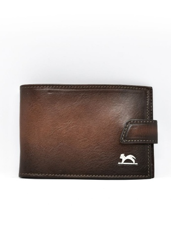 Charles Berkeley brown Charles Berkeley Italian Craftsmanship Toscana Wallet  -1975 51E4AAC322D0FDGS_1