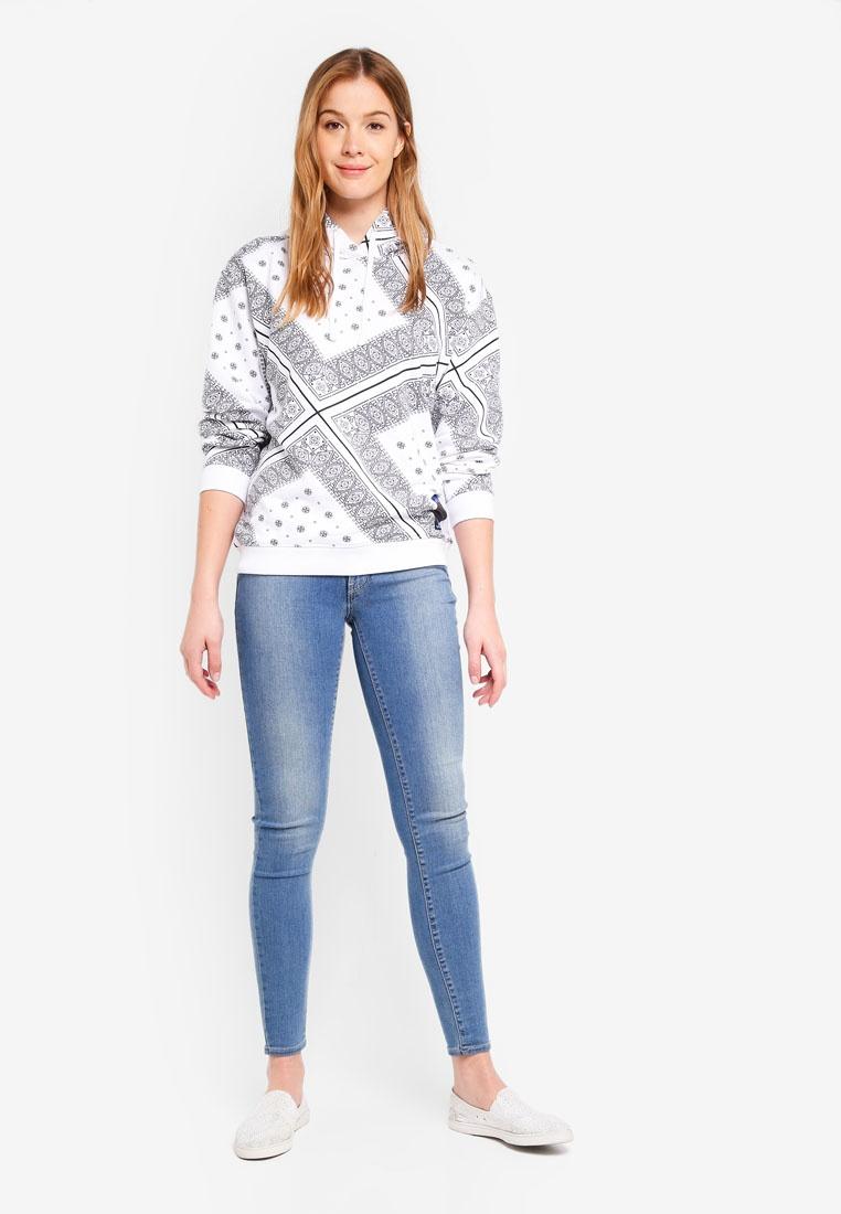 Bandana White Calvin Bandana Os A Klein Hoodie Calvin Klein Jeans 6ZqExz