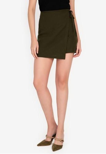Origin by Zalora green Skirt made from TENCEL™ B83F9AAA33DDD9GS_1