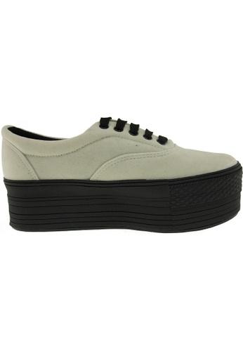 Maxstar beige Maxstar Women's C50 5 Holes Platform Suede Low Top Sneakers US Women Size MA164SH61PRYSG_1