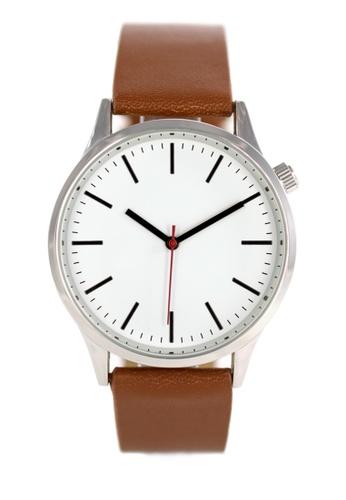 LEUPP brown Kubo Watch D44E9AC6E9C210GS_1