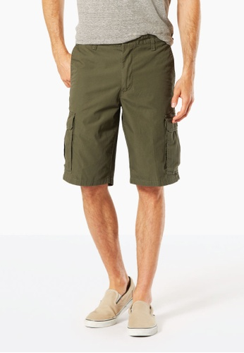 Dockers green Dockers Standard Washed Cargo Shorts Olive A076CAA79D8A65GS_1