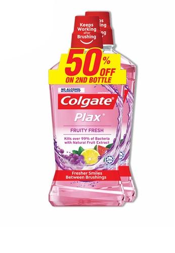 COLGATE Colgate Plax Fruity Fresh Mouthwash Valuepack 750ml x 2 B21AEES36EFD15GS_1