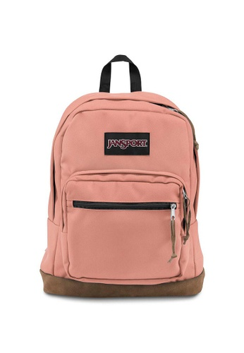 Jansport pink Jansport Right Pack Muted Clay Backpack 31L 0D744AC13661A2GS 1 d72d7598ba7cf
