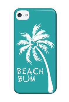 Beach Bum Matte Hard Case for iPhone 4,4s