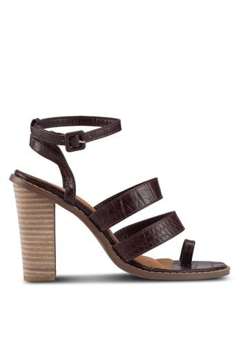 Rubi 多色 Olivia Toe Loop Block Heels B2755SH65AC18EGS_1