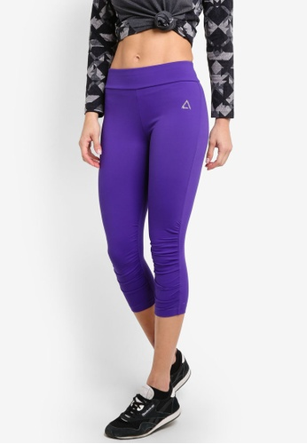 AVIVA purple Ruched Pants AV679AA31ZZWMY_1