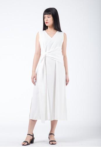 Simplify white Luna Dress White 8137FAA9EF0094GS_1