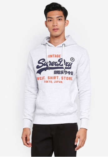 Superdry 灰色 Sweat Shirt Shop Duo Hood 7F585AA81C3360GS_1