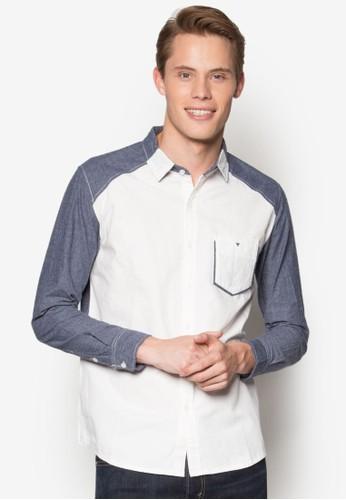 休閒長袖襯衫, 服飾, 素色esprit香港門市襯衫