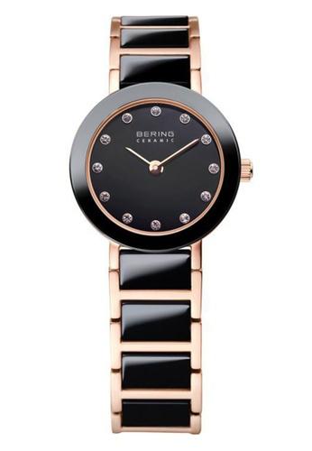 Bering black Ceramic 11422-746 Black 22 mm Women's Watch CE708AC3587F94GS_1