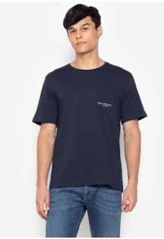 Calvin Klein white Men s Ar-Talb Short Sleeves Knit T-shirt  C09E2AAEF4AE56GS 1 6bb56a124