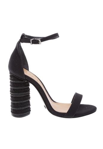 f3c8da4a4c0 SCHUTZ black SCHUTZ Strap Block Heel Sandal - CURRENT (BLACK)  293C0SH7BC7B20GS 1
