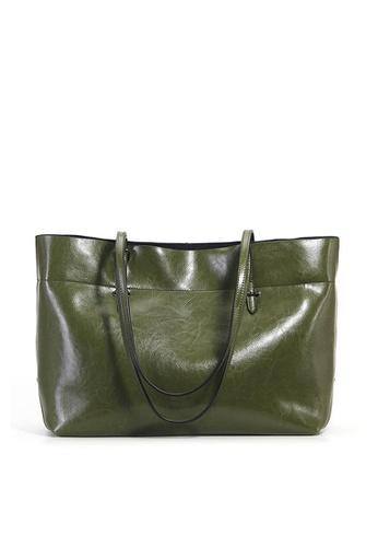 Twenty Eight Shoes green VANSA Cow Leather Hand Bag VBW-Tb8825A CB710AC4BDAD69GS_1