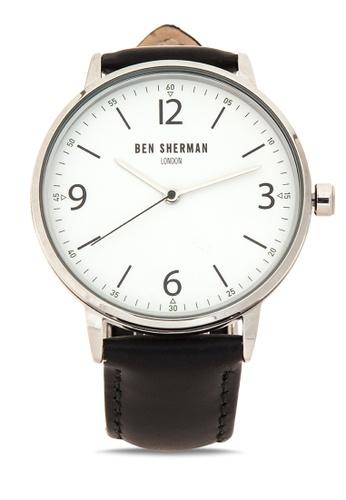 Ben Sherman black Portabello Casual Analog Watch BE007AC40NPRPH_1