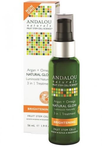 Andalou Naturals Argan + Omega Natural Glow 3 in 1 Treatment AN136BE70OXLSG_1