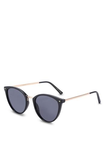 MANGO black Contrasting Sunglasses AE1CEGL728E2CDGS 1 15807f895e