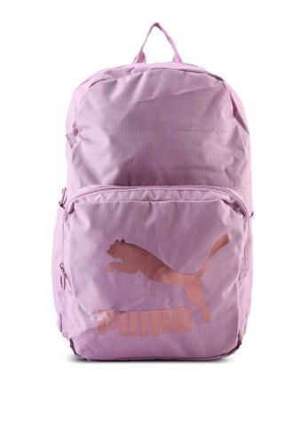 PUMA pink Originals Backpack 276E5AC5AD1EEBGS_1