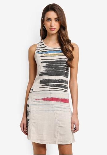 Desigual white Matias Sleeveless Dress D1D1FAAD5A9918GS_1