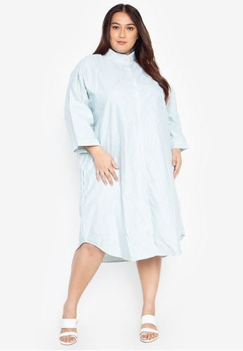 Plus Size Hollie Oversized Polo Dress