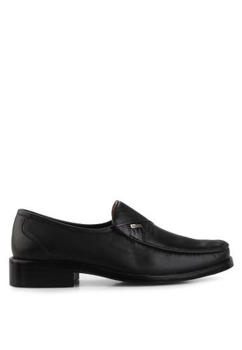 Marelli black Steffan Mocassin Shoes MA036SH14TIJID_1