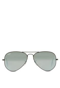 Ray-Ban Aviator Large Metal RB3025 Sunglasses RA370GL40SAHSG 1 89ec8e0811