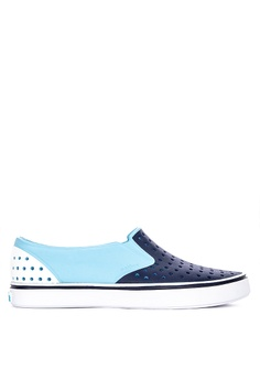 90aa2a02a0d4 Native blue Miles Block Loafers 5EF70SH24A4559GS 1