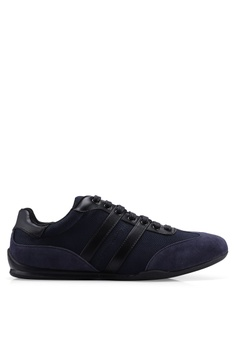 ef153d35029 Burton Menswear London navy Dannik Shoes 30915SHF496DE2GS 1