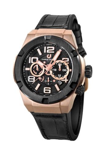 Charles Jourdan gold Charles Jourdan Men Watch Chronograph 45mm CJ1089-1535C 8A198AC7F19071GS_1