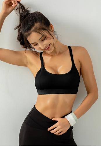 HAPPY FRIDAYS Women's Medium Support Sports Bra DK-WX14 4F12DAA6DD17E6GS_1