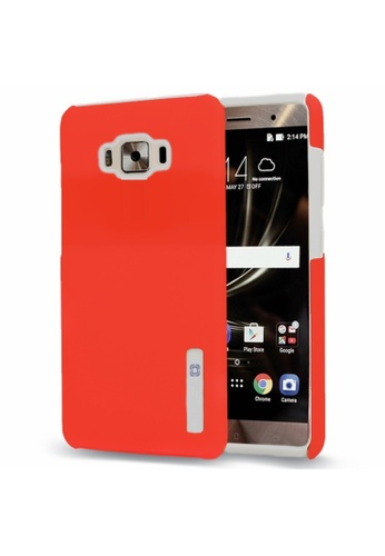 MobileHub red Dual Pro Shockproof Case for ASUS Zenfone Max 84A93AC9BC0EDCGS_1