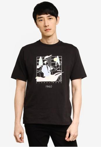 GLOBAL WORK grey Graphic T-Shirt 27B30AA94DEEFCGS_1