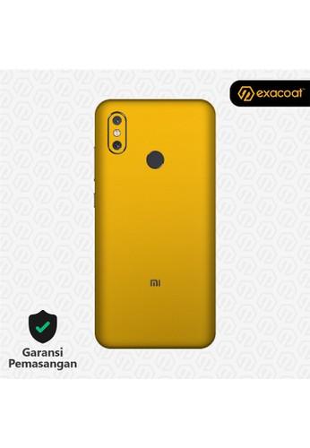 Exacoat Xiaomi Mi 8 Skins True Colors - Lemon Yellow 6D963ES8FB1D03GS_1