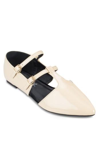 Mary Jane 尖頭平底esprit 京站鞋, 女鞋, 芭蕾平底鞋